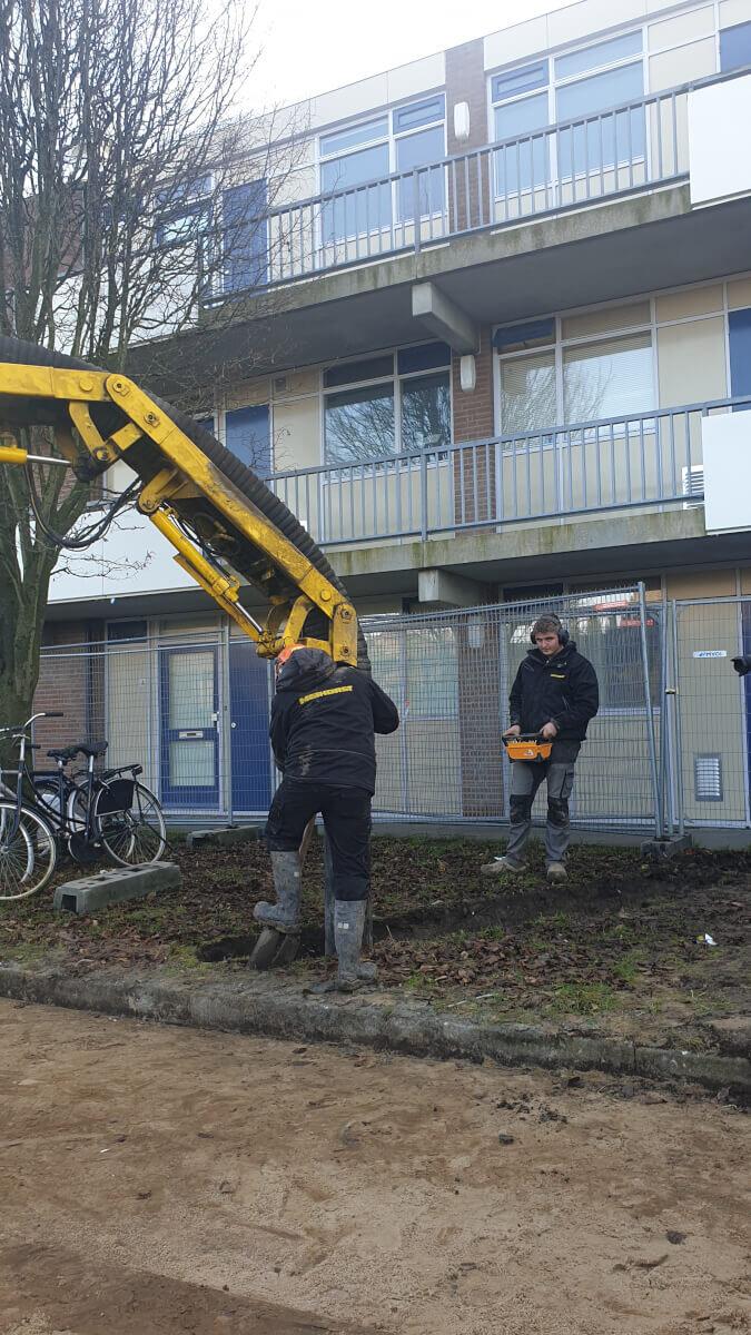 Sleuven en onderdoorgangen zuigen MVOI Heerhugowaard Methorst Zuigtechniek