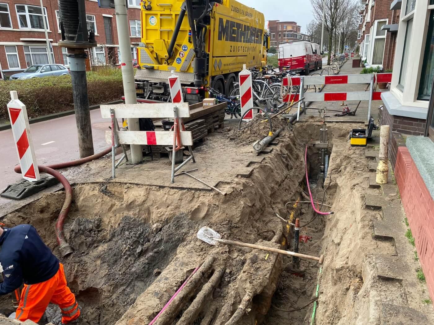 Sleuven zuigen Den Haag Van Voskuilen b.v.