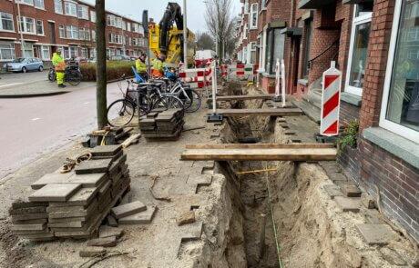 Sleuven zuigen Den Haag waterleidingen