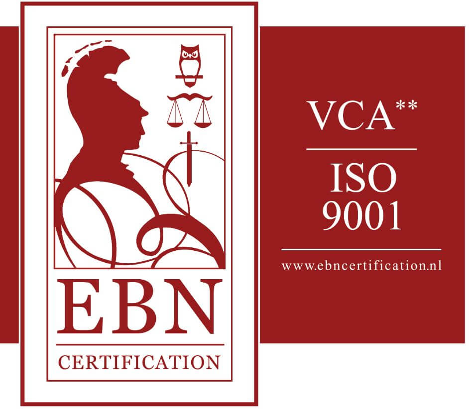 VCA** en ISO9001 Methorst Projecten BV