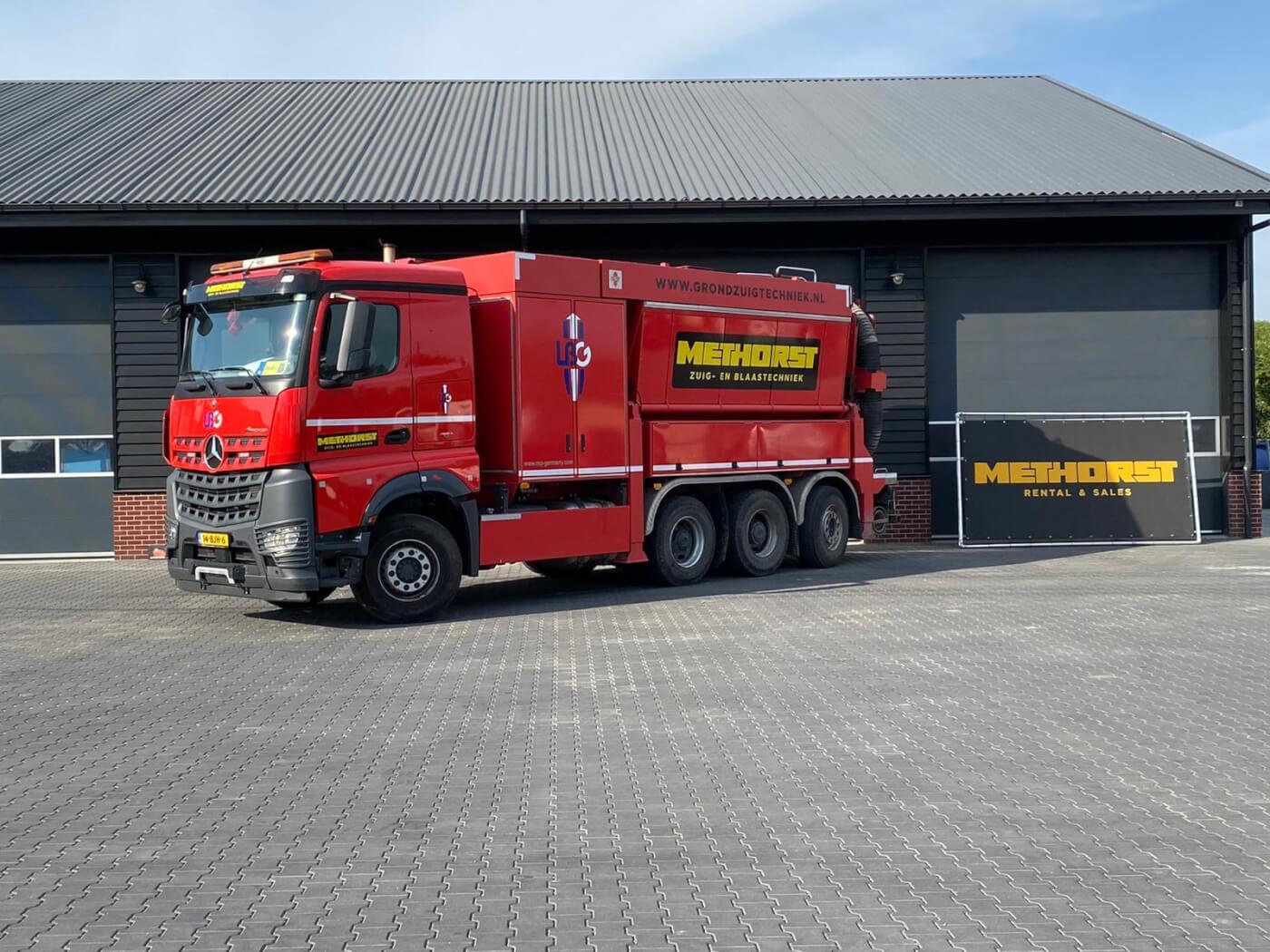 Zuigwagen Methorst Zuigtechniek LBG 11