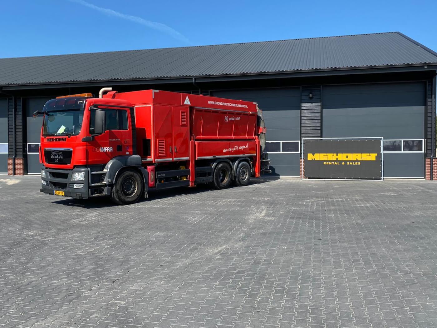 Zuigwagen Methorst Zuigtechniek LBG 7