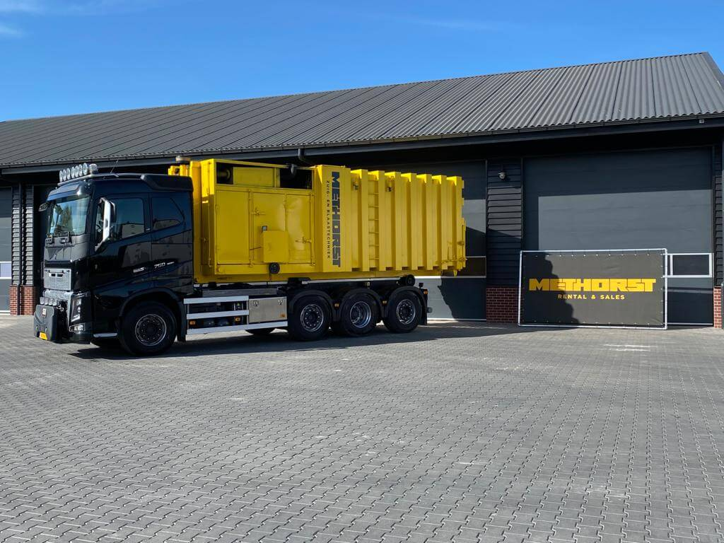 Containerwagen Methorst Zuigtechniek | Rental & Sales