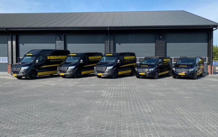 Wagenpark Methorst Zuig- en Blaastechniek- bedrijfsbussen