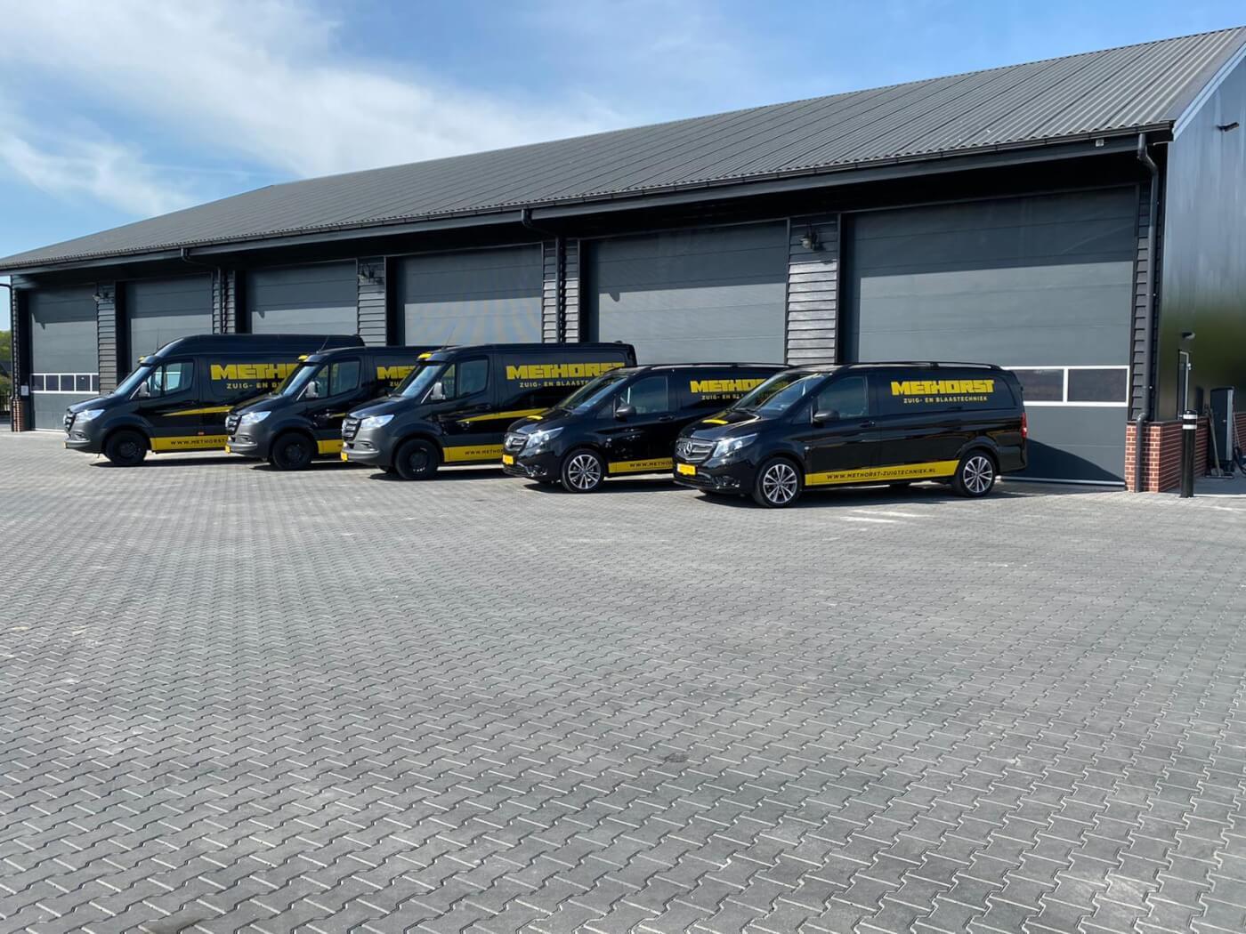 Methorst Zuig- en Blaastechniek wagenpark upgrade bedrijfsbussen