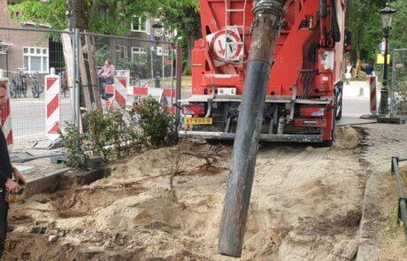 Methorst Zuigtechniek en Van den Heuvel   Boomwortels, kabels en leidingen vrijzuigen