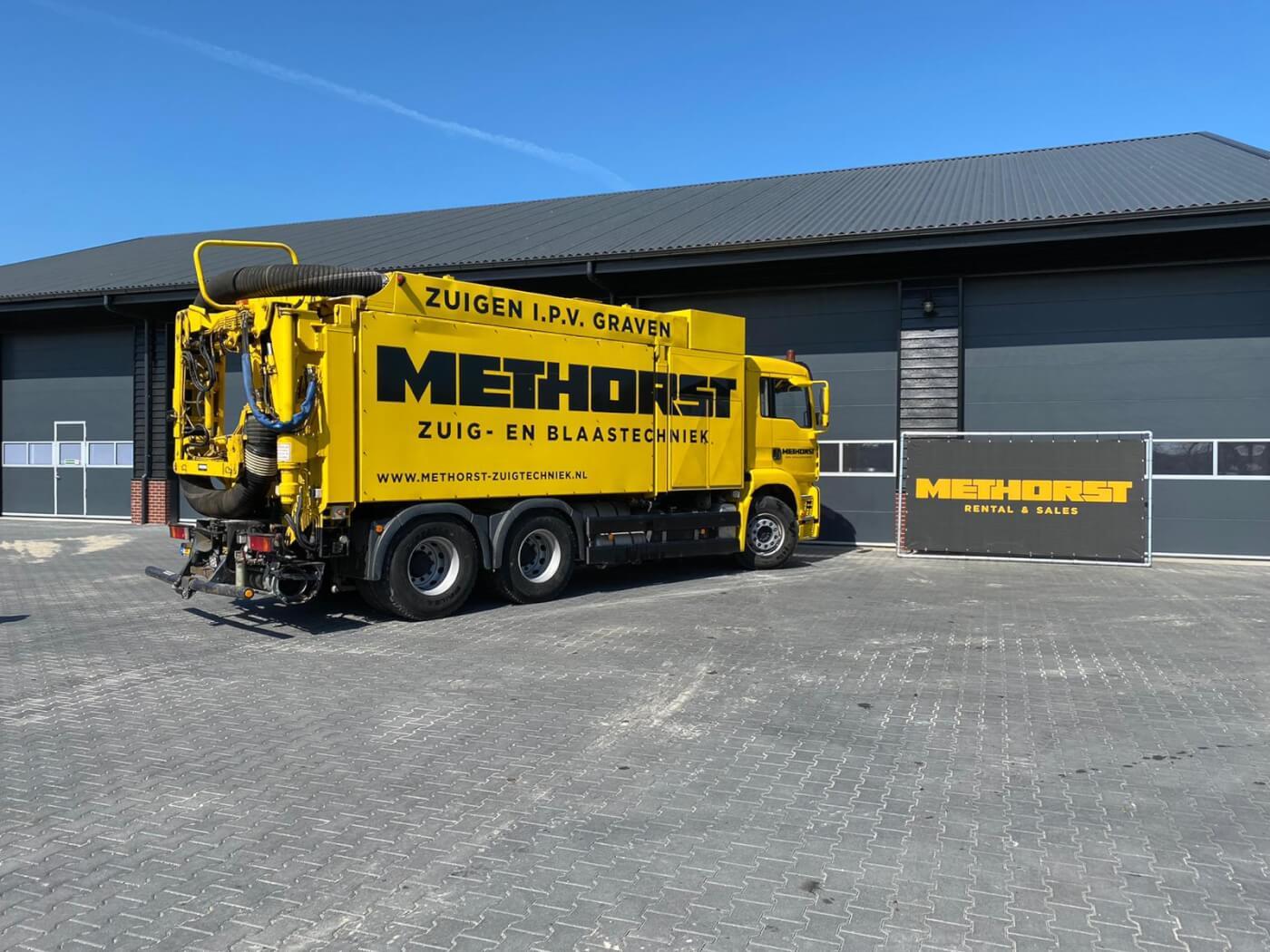 Zuigwagen huren Methorst Rental en Sales