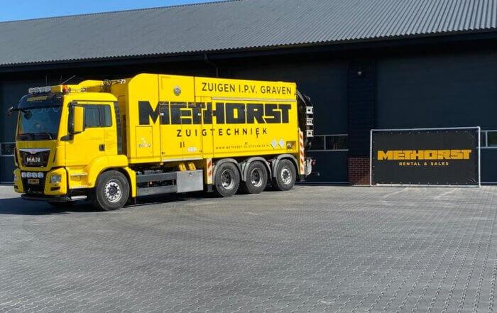 Zuigwagen huren Methorst Rental & Sales