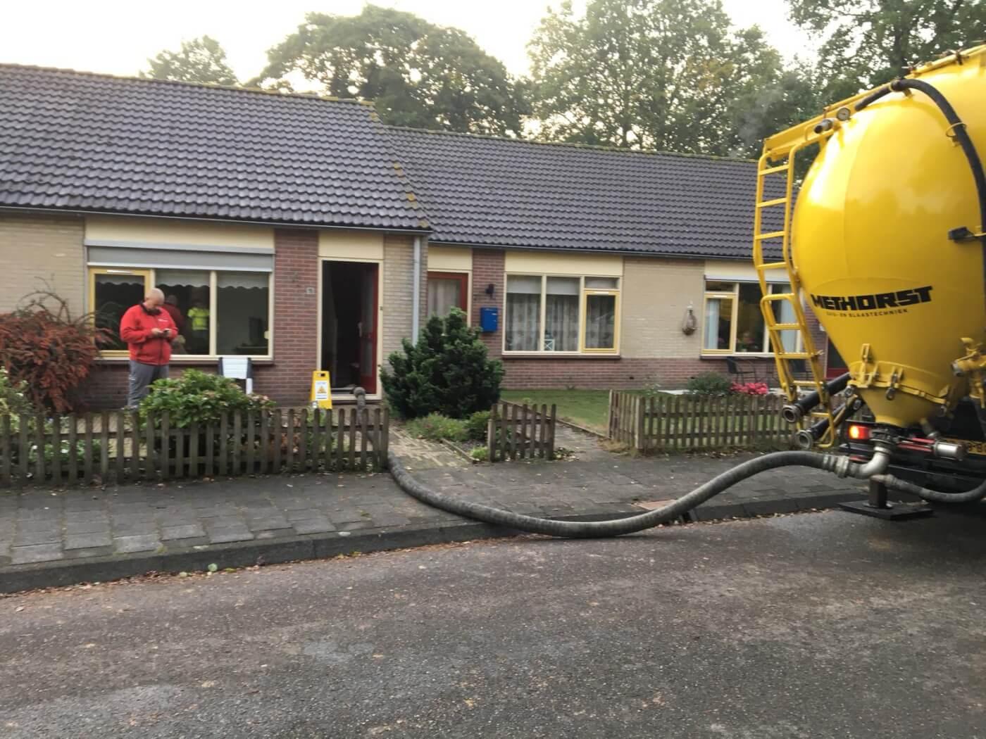 Zandspuiten Methorst Zuig- en Blaastechniek - kelder dichten