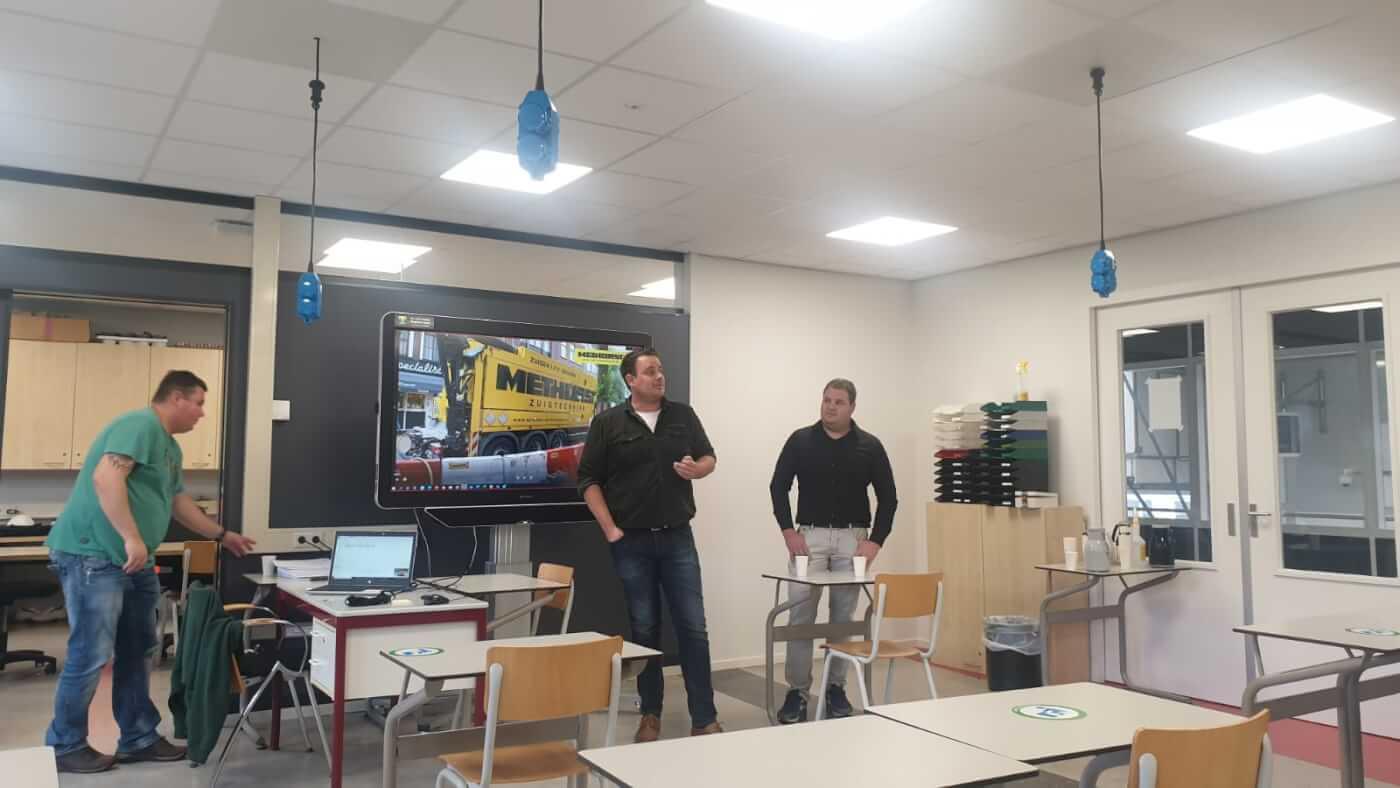 Presentatie Willem l college, Methorst Zuigtechniek - de inzet van zuigtechniek in de infra