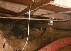 Uitgraven kruipruimte in Wageningen - Methorst Zuigtechniek