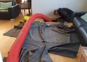 Kruipruimte uitgraven onderhoud - Methorst Zuigtechniek