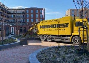 Kruipruimte uitgraven Woonzorgcentrum Utrecht | Methorst Zuigtechniek