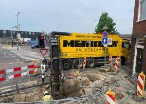kabels en leidingen vrijmaken - Methorst Zuigtechniek Groningen