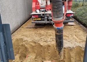 Zuigtechniek - 10 kV station vrijzuigen - Amersfoort - Methorst