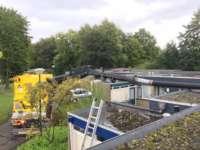 Dakgrind verwijderen in Driebergen