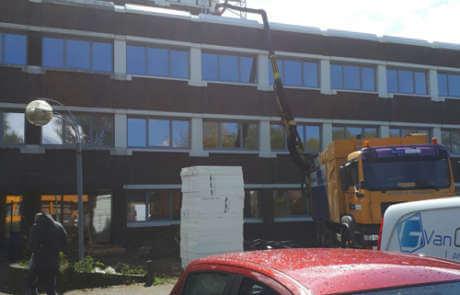 Dakgrind verwijderen in Rotterdam