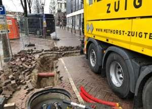 kabeltrace vrijzuigen in Amsterdam
