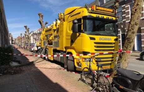 Kelderruimte uitzuigen in Arnhem